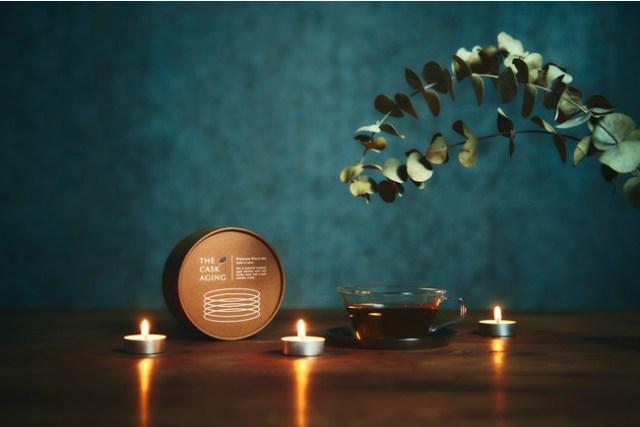 ウィスキー樽で紅茶を熟成! 芳醇な甘い香りが楽しめる「酔うようで酔わないノンアルコールティー」