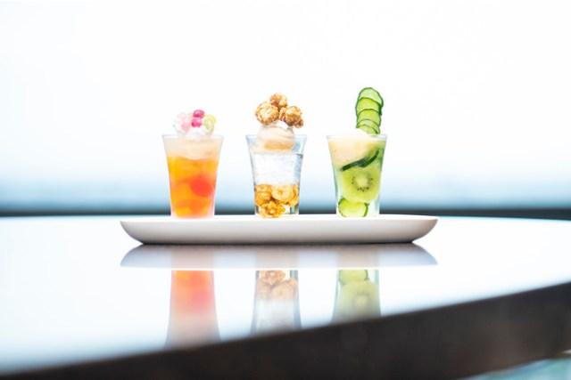 流行中のクリームソーダに「きゅうり」「ポップコーン」味が登場だと!? 二子玉川エクセルホテル東急のクセが強い