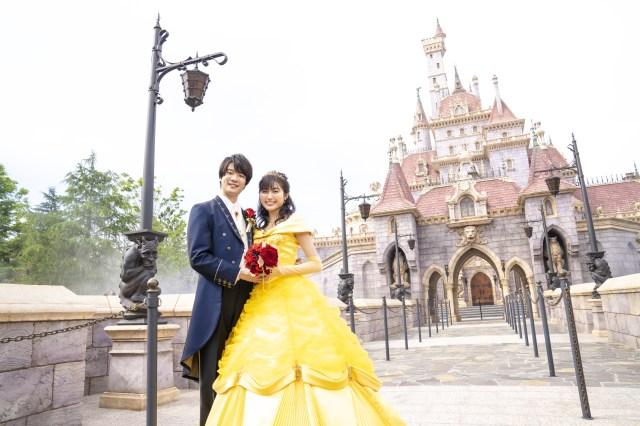 東京ディズニーランド『美女と野獣』エリアでウェディングフォトが可能に! ディズニーアンバサダーホテルの新プランが最高すぎる…