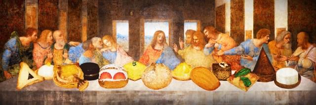 レオナルド・ダ・ヴィンチ「最後の晩餐」がアフタヌーンティーに! キリストと12人の弟子にちなんだメニューが圧巻です