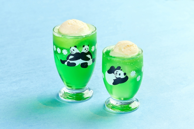 上野動物園の「パンダグラス」がレトロ可愛くてたまらん! 双子の赤ちゃんパンダ誕生記念グッズも登場するよ♪
