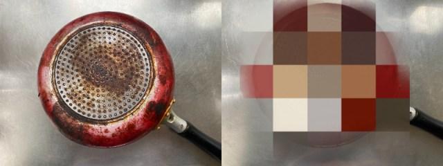 【TikTokで話題】おうちにある材料でフライパンの裏の焦げ付きが落ちる!? 本当にキレイになるのか試してみた!