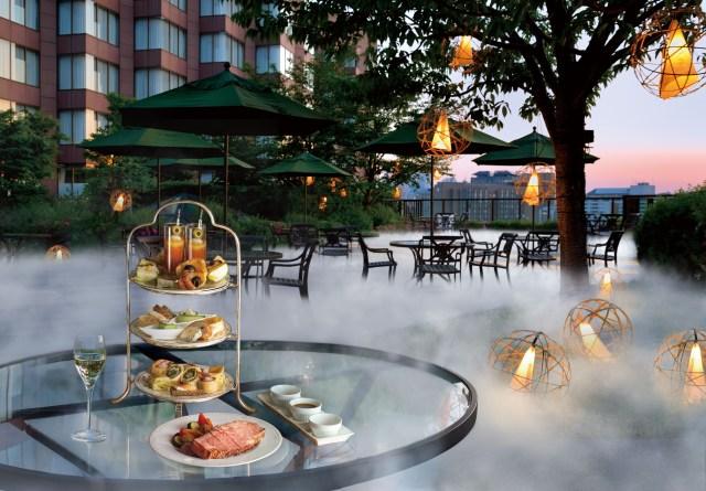 都内に「雲海」が出現!? ホテル椿山荘東京の「雲の中のイブニングハイティー」が幻想的すぎる…