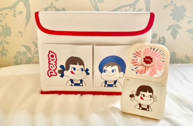 「mini」9月号の付録はペコちゃん祭り!ハンディファンと収納BOXがキュートすぎ&便利すぎでした♡