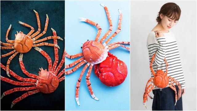 フェリシモの本気がヤバい! 脱皮もする「タカアシガニのぬいぐるみ」が超リアル…なんとバッグとしても使えます