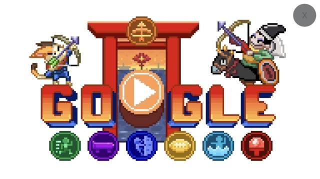 Googleが公開した2020年東京オリンピック記念ゲームが楽しい! 日本伝統が生かされた世界観にグッとくるよ