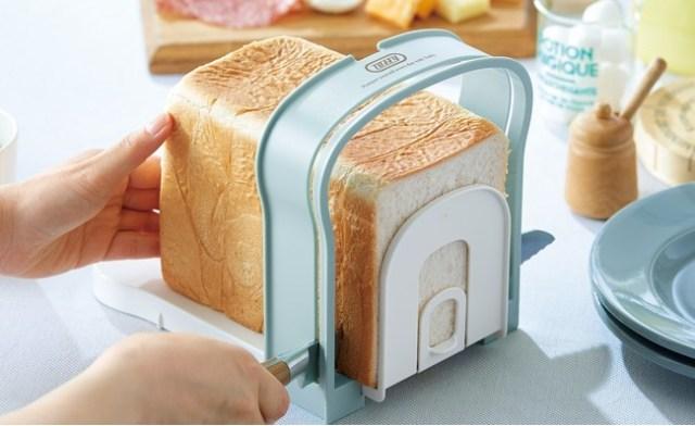 食パンブームの救世主!? パンを好みの厚さにカットできる「食パンスライスガイド」が地味に便利