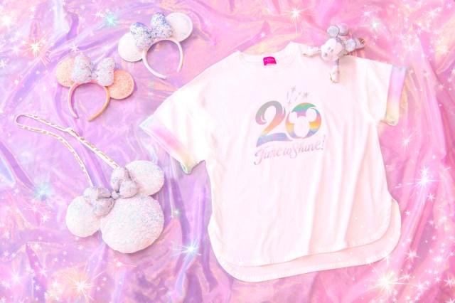 東京ディズニーシー20周年の身に着けグッズが発表されたよ! ホワイト系 & スパンコールが散りばめられて超華やかです