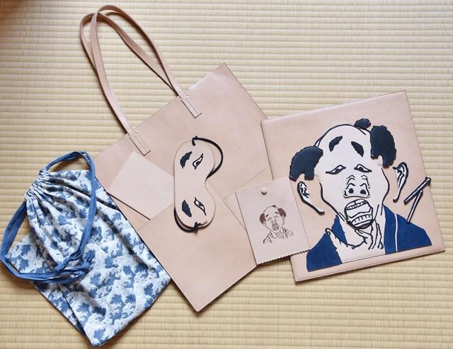 葛飾北斎生誕260年を記念した展覧会「北斎づくし」のグッズが豪華すぎる! 注目は約20万円の福笑い&トートバッグです