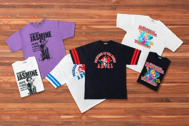 東京ディズニーリゾートに「ヒステリックグラマーコラボTシャツ」が登場!ディズニープリンセスがロックテイストのデザインに♪