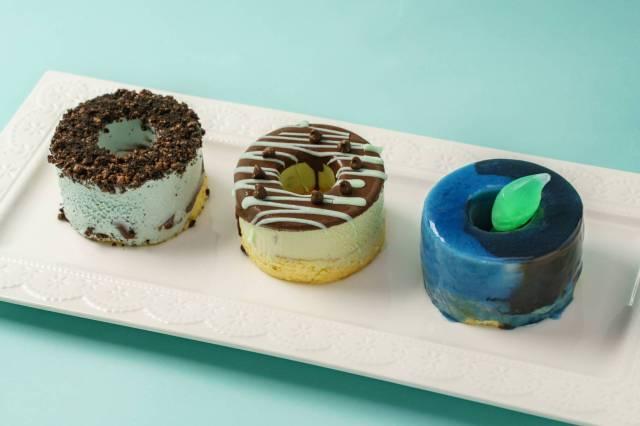バウムクーヘンの「せんねんの木」から3種のチョコミント登場! ミントレベルの違いを食べ比べしちゃお〜♪