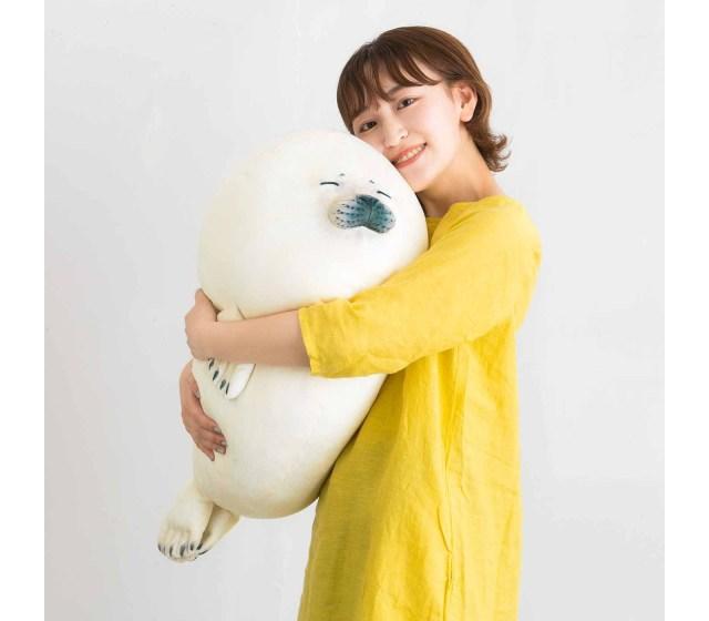 ゴマフアザラシの赤ちゃんを実寸大で再現! フェリシモ「赤ちゃんゴマフアザラシもっちりクッション」の尊さについて…