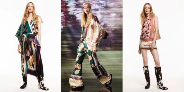 ZARAから「スカーフ」を組み合わせたワンピースやトップスが登場! 人の目を引き付けるデザインばかりです♪