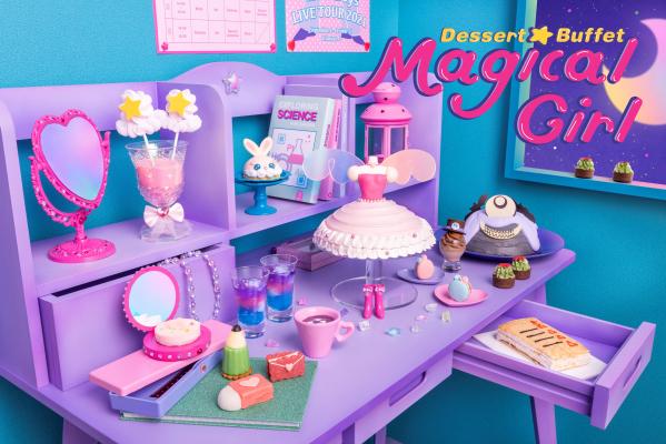 「魔法少女」をテーマにしたヒルトン東京ベイのデザートビュッフェがヤバい!! 魔法のステッキやコンパクトをスイーツで再現してるよおおお