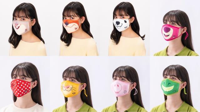 東京ディズニーリゾートのグッズに「キャラクターに変身できるマスク」が登場!『ズートピア』『トイ・ストーリー』など