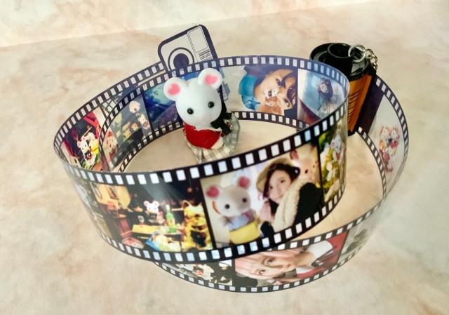 思い出の写真をフィルム型にした「フィルムロールキーホルダー」がエモい〜! 実際に作ってわかったコツなどを伝授するよ
