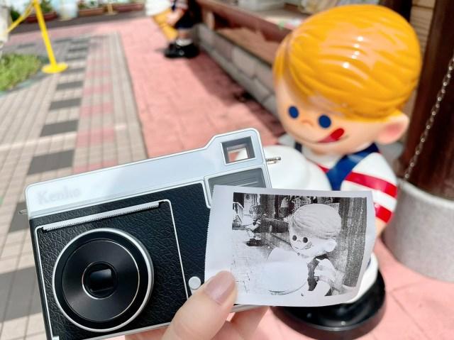 レシート用紙にプリントする「感熱紙カメラ」で遊んでみた! エモすぎるモノクロ写真が簡単に撮れるけど失敗もあったよ…!