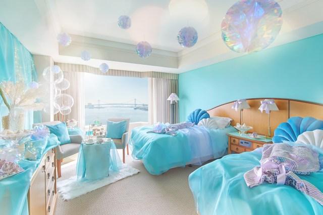 まるで人魚気分を味わえる! ホテル インターコンチネンタル 東京ベイが海の中をイメージしたお部屋を作ったよ♪