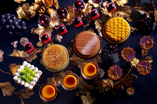 秋の味覚「いもくりなんきん」がビュッフェで楽しめる! 3種のモンブラン食べ比べなんて贅沢も叶っちゃいます♡
