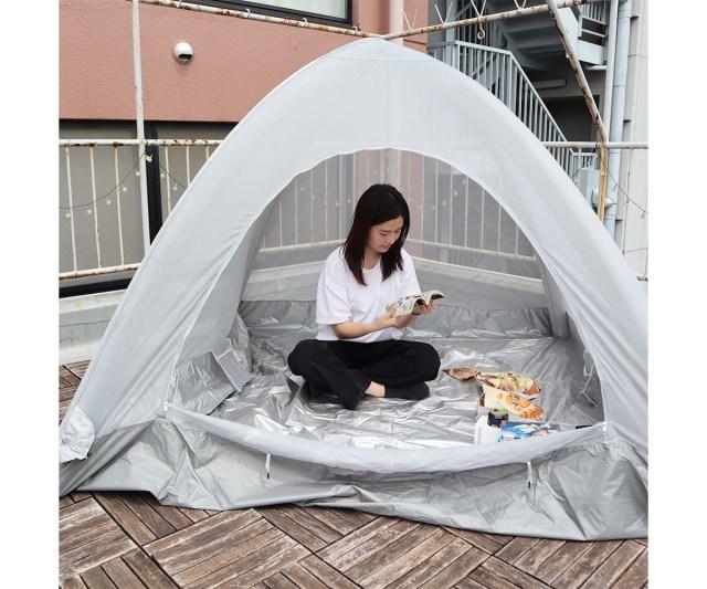 ポールのいらないテント!? 空気を注入すれば完成する「エアーテント」が革命的でした