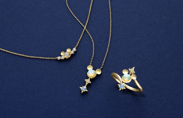 東京ディズニーリゾート×スタージュエリーのデザインにうっとり♡ オパールやダイヤを使った贅沢なデザインです