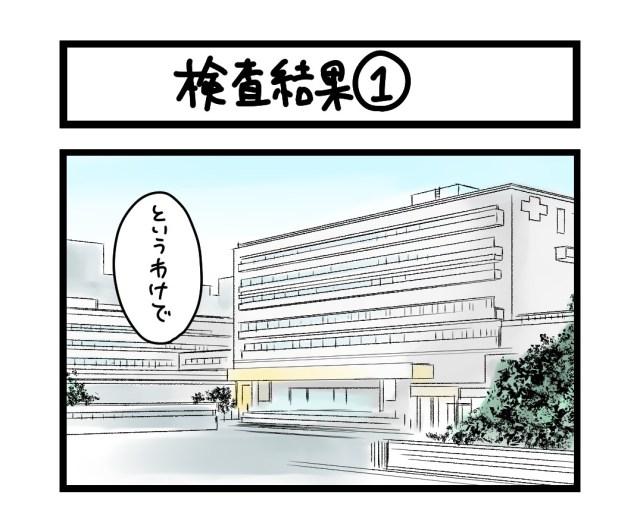 【夜の4コマ部屋】検査結果(1)  / サチコと神ねこ様 第1610回 / wako先生