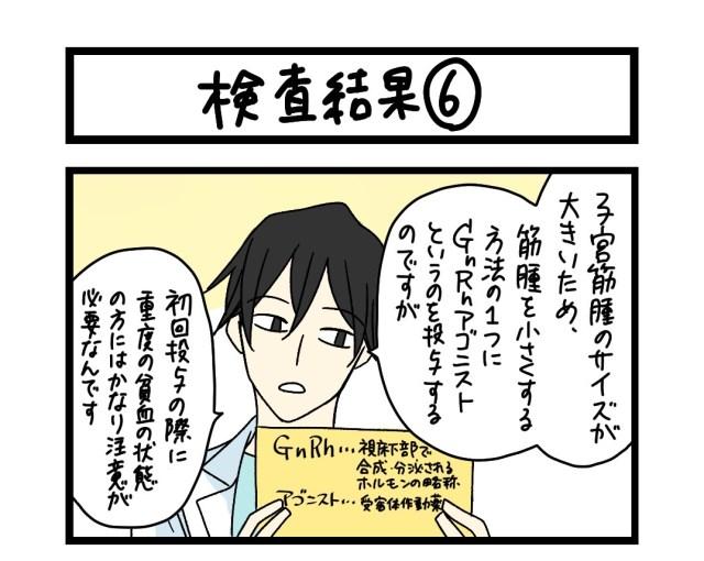 【夜の4コマ部屋】検査結果 (6)  / サチコと神ねこ様 第1615回 / wako先生