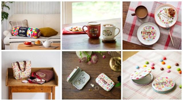 明治のマーブルチョコがstudio CLIPとコラボ! お菓子まんまのクッションや食器など遊び心あるアイテムばかりです