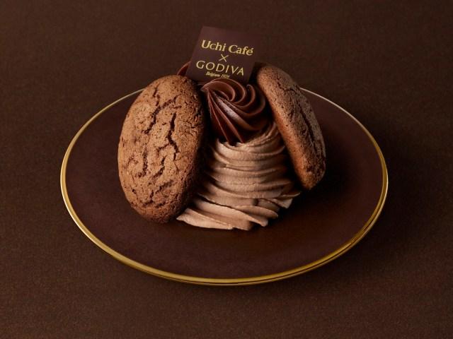 ローソン×ゴディバの新作はキャラメル! 濃厚なチョコとキャラメルのケーキ&エクレアが発売に