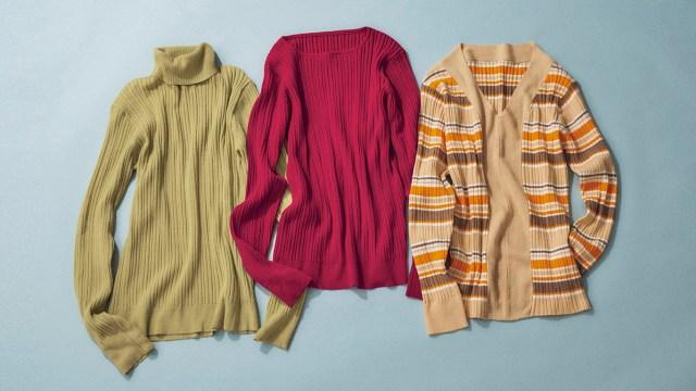 ベルメゾンからピエール・エルメのスイーツをイメージした洋服が発売に! 鮮やかな色合いのニットに注目だよ〜!