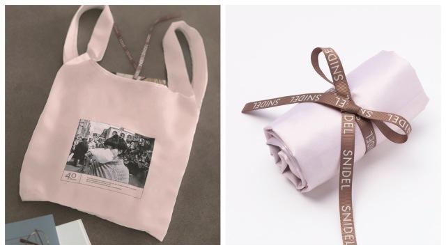 『with』12月号付録は黒柳徹子さん×SNIDELのエコバッグ! 黒柳さんNY留学時代のおしゃれな白黒写真がデザイン
