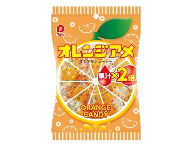 パインアメの姉妹版「オレンジアメ」があったなんて…! 16年ぶりのリニューアルで果汁が2倍になったよ