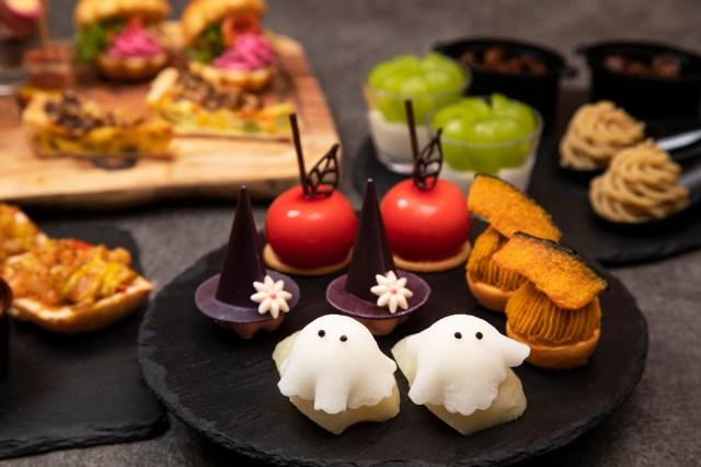 グランドプリンスホテル新高輪のハロウィンアフタヌーンティーは可愛さたっぷり! 秋の味覚も楽しめる内容だよ