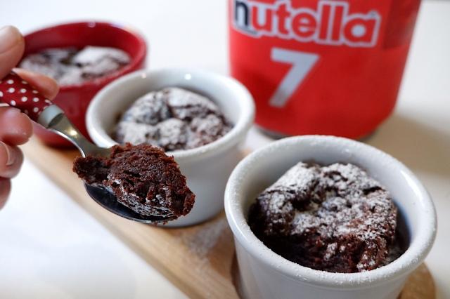 ヌテラと卵だけで完成するチョコレートケーキが簡単すぎ! SNSで人気「ヌテラケーキ」は濃厚な罪の味だよ