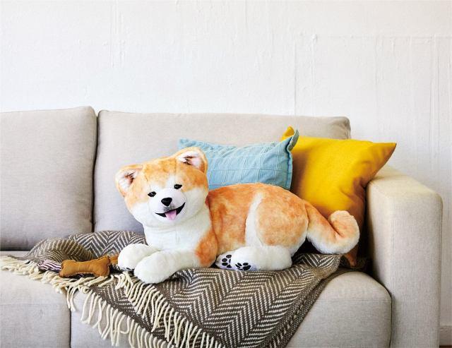 秋田犬と暮らす夢がかなう! 秋田犬保存会が監修した大きくてモフモフな子犬のぬいぐるみがフェリシモに登場〜!