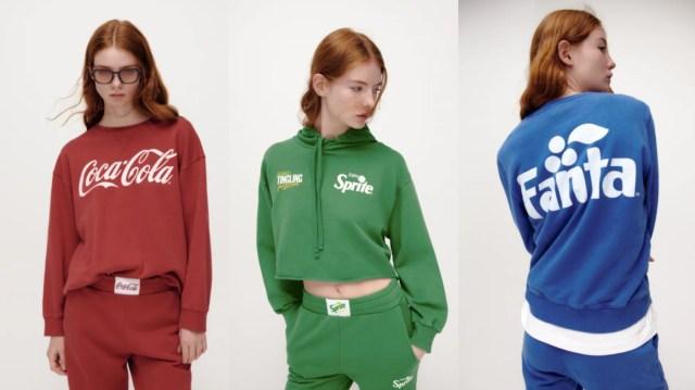 【ZARA】有名ドリンクがスウェットに! 「コカ・コーラ」「スプライト」「ファンタ」それぞれデザインも違います