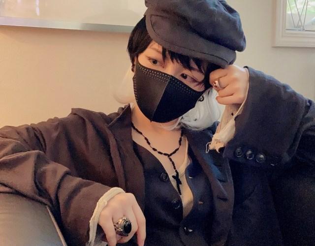 【 #マスクDEハロウィンメイク 】 第2回 男装してイケメンに変身してみる  / いつものコスメだけで完成するよ