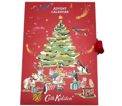 コストコに「キャス キッドソン:のアドベントカレンダーがある! 中身はボディローションやハンドクリームなどの美容アイテムだよ