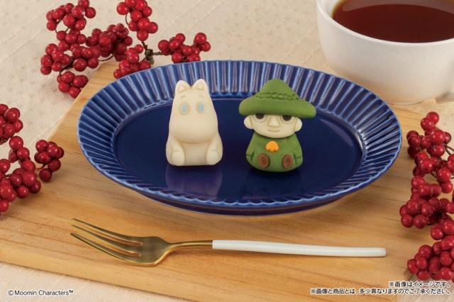 ムーミンとスナフキンがファミマ「食べマス」に初登場! ムーミンは「ミルク」スナフキンは「茶葉の入った抹茶」味です