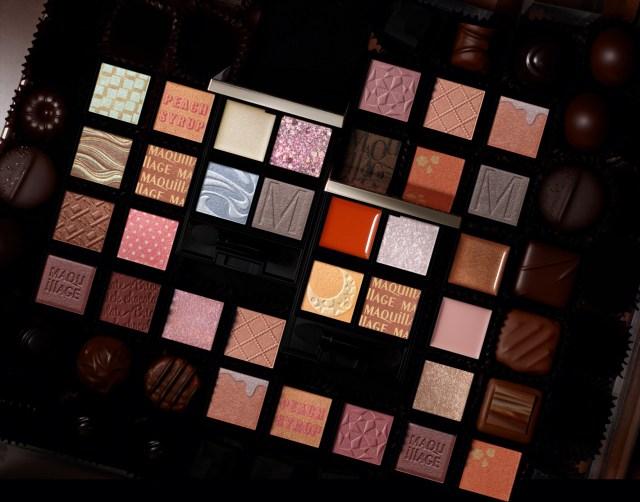 マキアージュから自分好みの4色をカスタムできるアイカラーパレットが登場! 全25色から質感や色を選ぶことができます