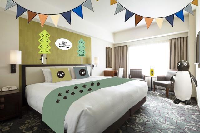 Suicaのペンギンルームがホテルメトロポリタンに復活! ペンギン一色のお部屋&スペシャルグッズも持ち帰りできるよ