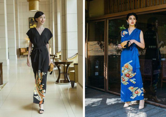 昭和の留袖をリサイクルしてドレスに! 着物の袖や柄を生かす京都発の着物アップサイクルブランド「季縁-KIEN-」とは?